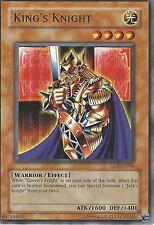 YU-GI-OH CARD: KING'S KNIGHT - RARE - EEN-EN006