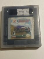 🔥 💯 WORKING NINTENDO GAMEBOY COLOR RARE GAME 🔥 KONAMI INTERNATIONAL RALLY