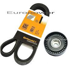 V-Ribbed Belt + Tensioner Roller BMW E36 E34 E38 E39 320/323/325/328-520 /525