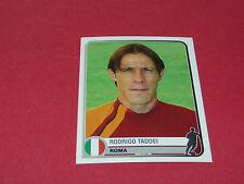 344 RODRIGO TADDEI A.S ROMA UEFA PANINI FOOTBALL CHAMPIONS LEAGUE 2005/2006