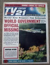 TV 21 #31 CENTURY XL5 STINGRAY THUNDERBIRDS Daleks fireball