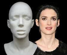 Winona Ryder Life Mask, Dracula, Edward Scissorhands, Beetlejuice, Alien 4