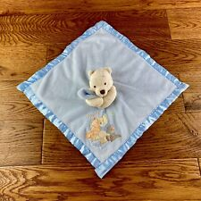 Disney Store Winnie The Pooh Comforter Blanket Friends Are For Hugging Soft Toy