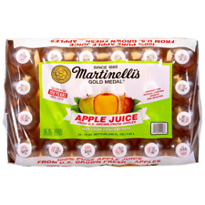 Martinelli's Gold Medal 100% Pure Apple Juice, No Sweeteners, 10 fl oz, 24-count