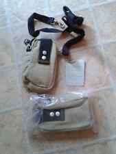 2 x PURE Hemp/Cotton Belt/Shoulder Bags/Pouches : BNWT