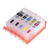 Refillable Ink Cartridge Kits Set For Canon 270 271 850 851 Pixma MG7720/5020 AM