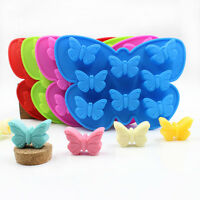 3D Butterfly Silicone Cake Mold Candy Chocolate Soap Cookies Decor Baking Mould