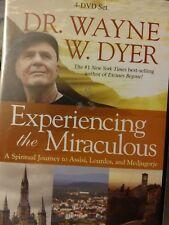 Dr. Wayne W. Dyer Experiencing the Miraculous 4 DVD Set Brand New Sealed