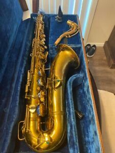 Conn Wonder Tenor Saxophone 1916