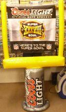 NFL Super Bowl Coors Goal Post Super Bowl XXXVIII New England Patriots