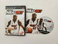 NBA 2K7 - Playstation 2 PS2 Game - Complete & Tested