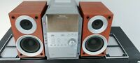 Panasonic SA-PM19 HiFi CD Stereo 5 Disc Changer Cassette AM FM MP3  NO REMOTE.