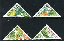 2002 Pitcairn Island Trees - Muh Set of 4 Stamps