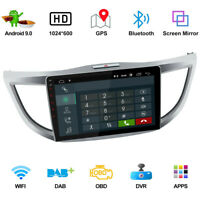 """10.1"""" Android 9.0 Car Radio Stereo Player GPS Navi Fit For Toyota CRV fr 2012-16"""
