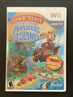 Jump Start ESCAPE FROM ADVENTURE ISLAND Game - Nintendo Wii - COMPLETE W/MANUAL
