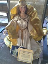 Franklin Mint = Queen Galadriel Lord of the Rings doll with COA