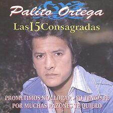 Various Artists : 15 Consagradas De Palito Ortega CD