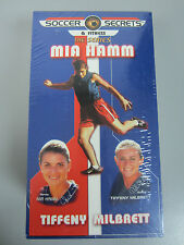 Mia Hamm Soccer Secrets & Fitness, The Series 3 VHS Beg / Int / Advanced, NEW