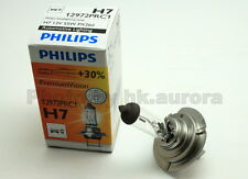 1x Genuine Philips H7 Headlight Bulb Halogen +30% 55W 12972PR Premium Vision