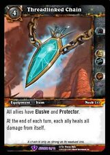 World Of Warcraft Wow Tcg Reign Of Fire Crafted : Threadlinked Chain X 4