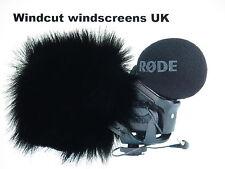 Windcut PARABREZZA WINDSHIELD accoppiamenti Rode Stereo VideoMic Pro