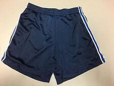 Girls Navy Blue Champion Shorts Size Child's Medium Cm Ym Euc