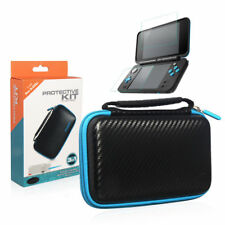 4 in 1 Carrying Case Cover & Screen Protector&stylus for Nintendo 2ds Xl/ll