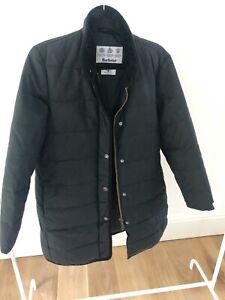 Barbour Wax Baffle Coat Fibredown - Black Colour - Size UK 12 - Great Condition