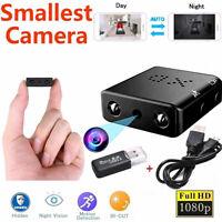 Mini caméra espion cachée sans fil 1080P HD Micro Security Cam Night Vision LB