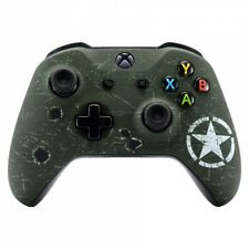 WWII Army Overlord Soft Touch Mods Faceplate Shell for Xbox One S X Controller