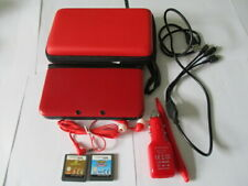 Nintendo 3DS XL in Red Handheld Console in Excellent Condition