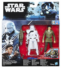 Star Wars Rogue One Snowtrooper Officer / Poe Dameron Action Figure HASBRO
