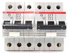 2x ABB S263 B16 Sicherungsautomat Leitungsschutzschalter 16A 3 polig 400V~ B 16