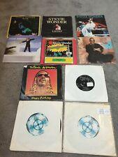 "Stevie Wonder 7"" Vinyl Single Record x10  Bundle Sir Duke,  Masterblaster"