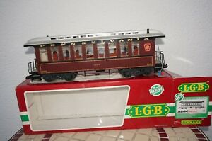 RF6] LGB 3280 Passenger Car Pennsylvania 3415 Gauge G with Interior Lighting Ob