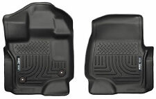 2015-2017 F-150 SuperCrew/Super Cab WeatherBEATER Floor Liners First Row Mats