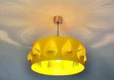 Ceiling Light Steel Lamp Modern Unique Contemporary Decorative Yellow  Designer