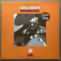 Cecil Taylor ‎– Innovations U.K. Polydor ‎– 2383-094 Original Press 1972