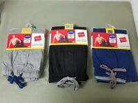 new mens Hanes tagless solid knit lounge pant sleepwear. 3 colors to choose.
