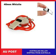 Referee Umpire Metal Sports Whistle Indoor Outdoor Match Camping Emergency