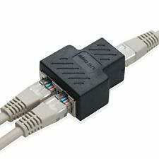 COVVY RJ45 Splitter Connector Female to Female Network Adapter 1 to 2 Female