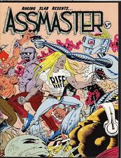 Raging Slab ASSMASTER 1 Underground Rock Music Comic Magazine Promo Comix Metal