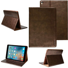 "Leder Schutzhülle Apple iPad Pro 12,9"" (groß) Tablet Tasche  Cover Case braun"
