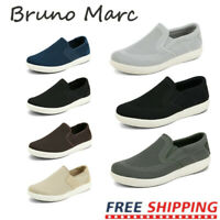 Bruno Marc Mens Mesh Sneakers Casual Shoes Slip On Loafers Comfort Walking Shoes