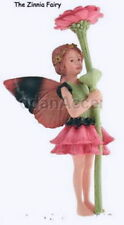 Retired Cicely Mary Barker Zinnia - Zinnea Flower Garden Fairy Ornament Nib!