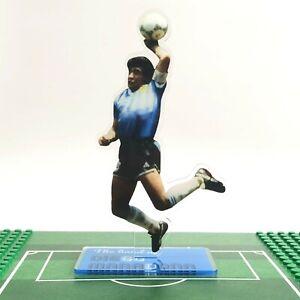"Diego Maradona Standing Figure Ornament ""Hand of God"" VS England 1986 World Cup"