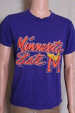 Vintage '90s Minnesota State broken in purple The Game t shirt M