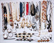 Konvolut Schmuck Modeschmuck Kette Brosche Armband Anhänger Ring Dachbodenfund 3