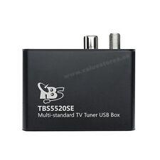 TBS 5520SE Multi-standard Universal TV Tuner USB Box DVB-S2/S, DVB-T2/T, DVB-C