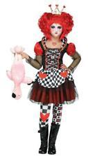 Queen of Hearts Girls Fancy Dress Fairy Tale Book Day Week Kids Children Costume 8-10 Years